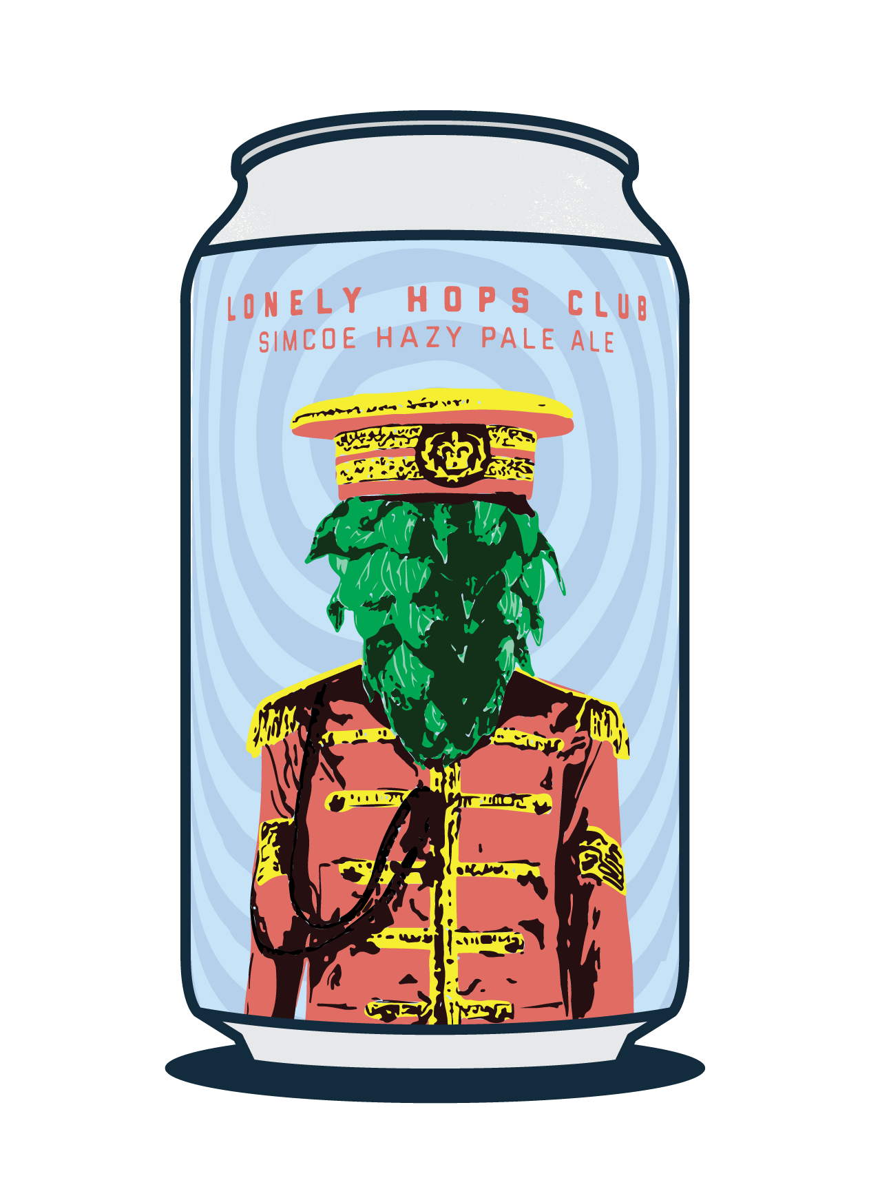 Lonely Hops Club - Simcoe Hazy Pale Image