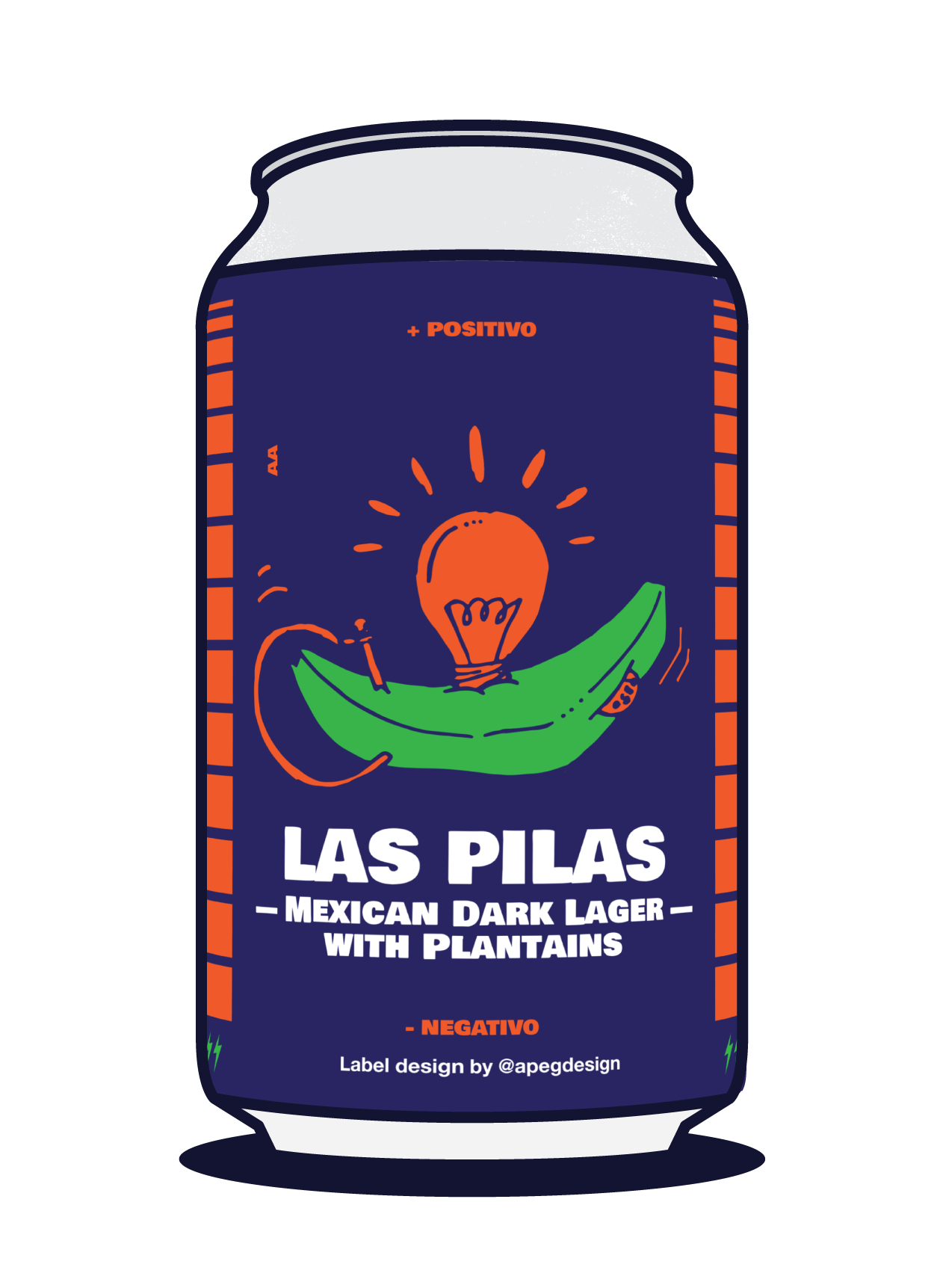 Las Pilas Hispanic Coalition Dark Lager Image